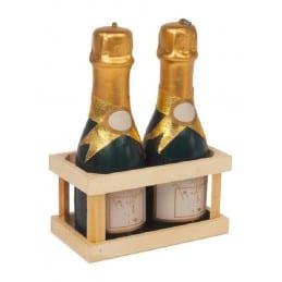Bougies Bouteille de Champagne x2