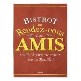 Duo Torchons de cuisine BISTROT AMIS