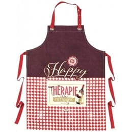 Tablier de cuisine original HAPPY THERAPIE