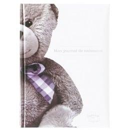 """Livre de naissance """"Mon journal de naissance"""" Ourson"""