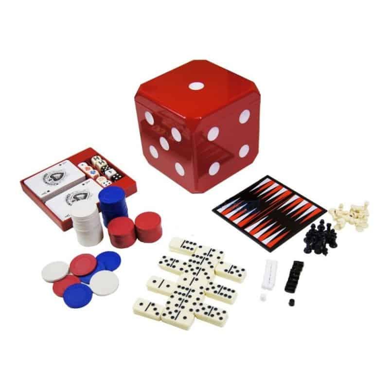 Cube jeux en forme de Dé 6 jeux