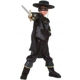 Déguisement enfant Cavalier noir masqué