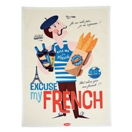 Torchon de cuisine EXCUSE MY FRENCH