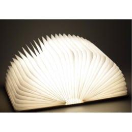 Lampe livre LED bois