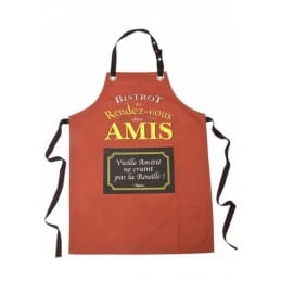 Tablier de cuisine original BISTROT DES AMIS