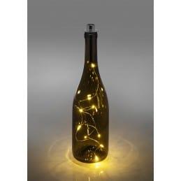 Guirlande lumière LED pour bouteille