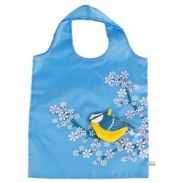 Sac pliable Oiseau bleu