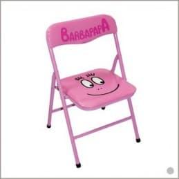Chaise pliante enfant BARBAPAPA