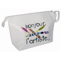 """Trousse Vinyle """"BONJOUR L'ARTISTE"""""""