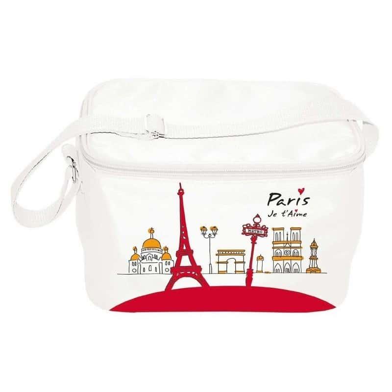Sac isotherme Repas Paris Je T'aime