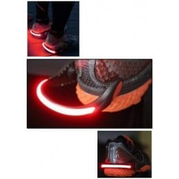 Clips LED pour chaussures