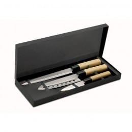 3 Couteaux style Japonais