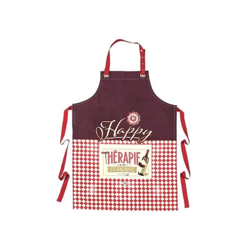 Tablier de cuisine HAPPY THERAPIE