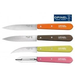 Coffret 4 couteaux de cuisine OPINEL