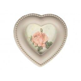 Boîte coeur cadre photo