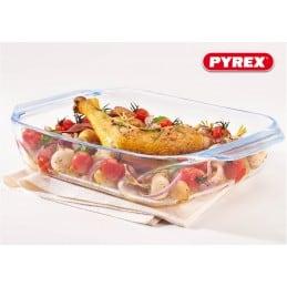 Plat PYREX rectangulaire pour 3 pers