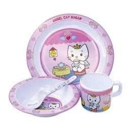 Coffret repas enfant ANGEL CAT