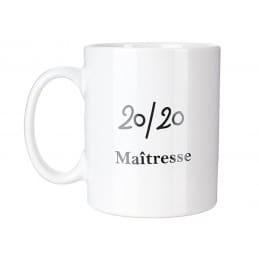 Mug Maîtresse 20/20