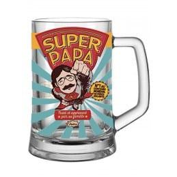 Chope à bière Super Papa