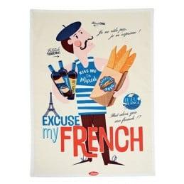 Torchon de cuisine EXCUSE MY FRENCH