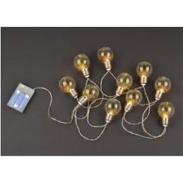 Guirlande de Noël 10 Ampoules