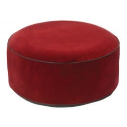 Pouf gonflable velours