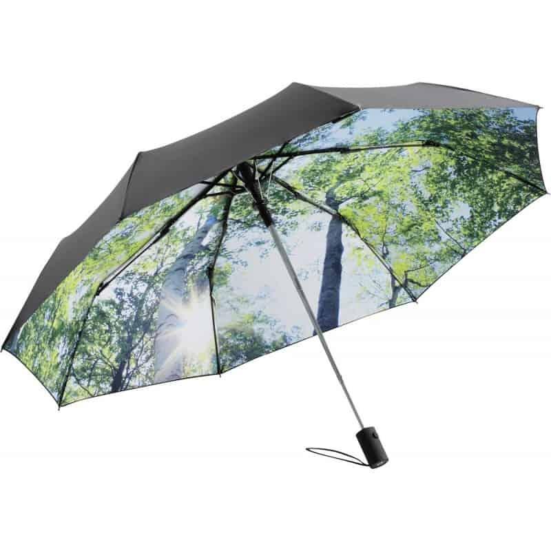 Parapluie pliant automatique Décoré