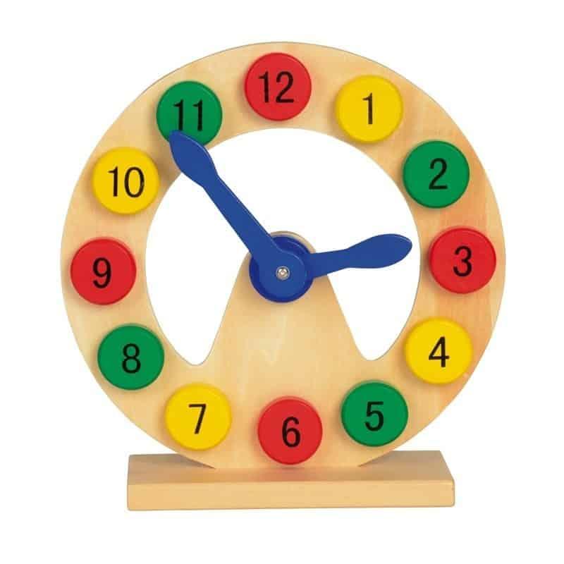 Horloge éducative pour apprendre l'heure