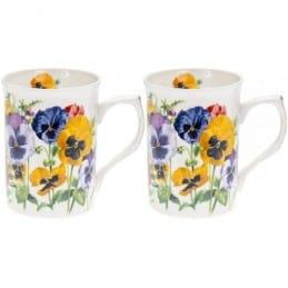 Coffret 2 mugs Pensée