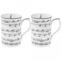 Coffret 2 mugs music