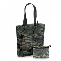 Sac shopping pliable camouflage