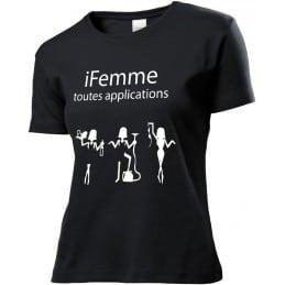 T-Shirt iFemme toutes...