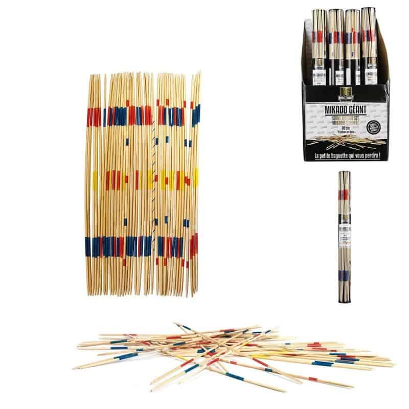 MIKADO Géant 41 pièces en bois