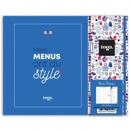 Carnet de menus à la semaine