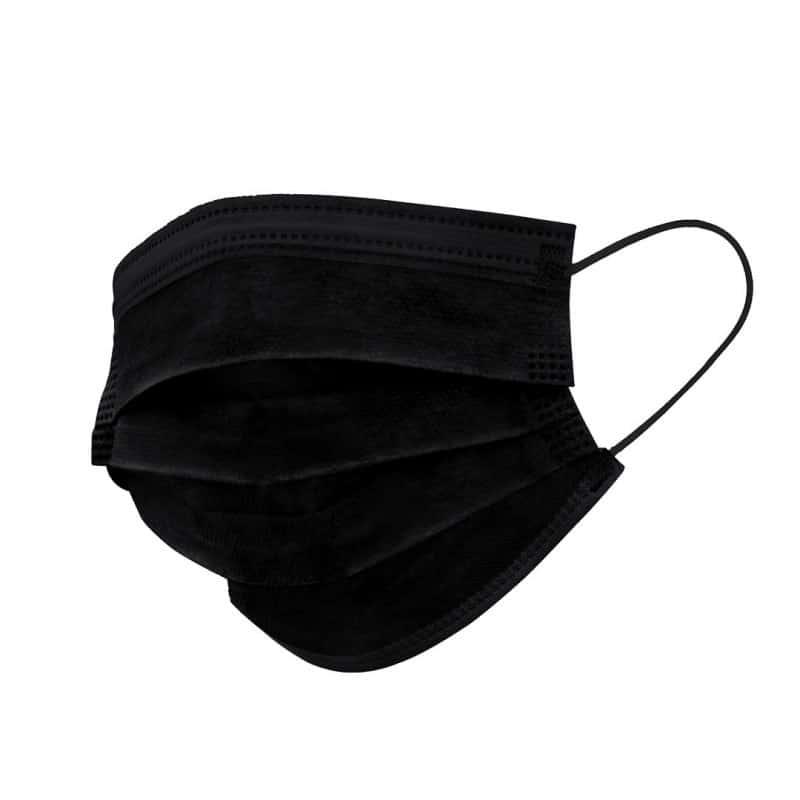 Masque hygiénique noir
