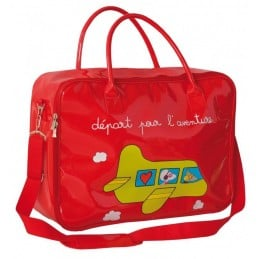 VALISETTE ENFANT - Départ pour l'Aventure - Rouge