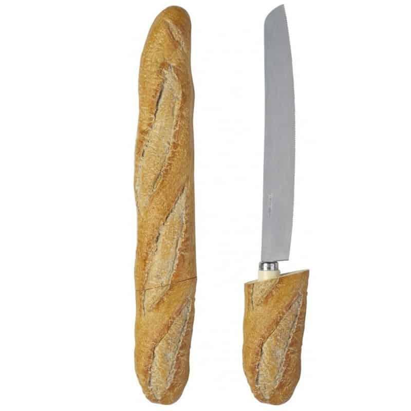 Couteau à pain forme Baguette