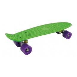 Skateboard - Vert Néon